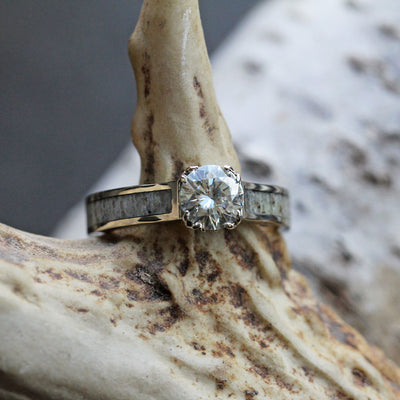 Antler Engagement Ring