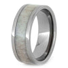 Men's Wedding Ring with Antler