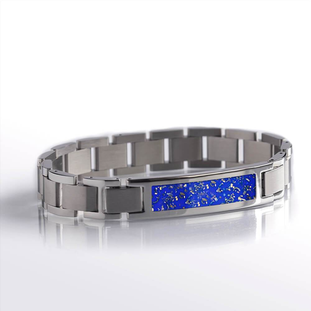 Blue Stardust™ Stainless Steel Interchangeable Bracelet-BR1001-3 - Jewelry by Johan