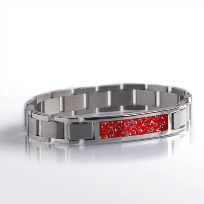 Red Stardust™ Stainless Steel Interchangeable Bracelet-BR1001-3 - Jewelry by Johan