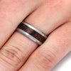 Dinosaur Bone Ring With A Tungsten Band-2138