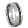 Dinosaur Bone Ring In Tough Tungsten Wedding Band