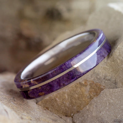 thin wedding band for women