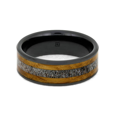 Antler Wedding Band