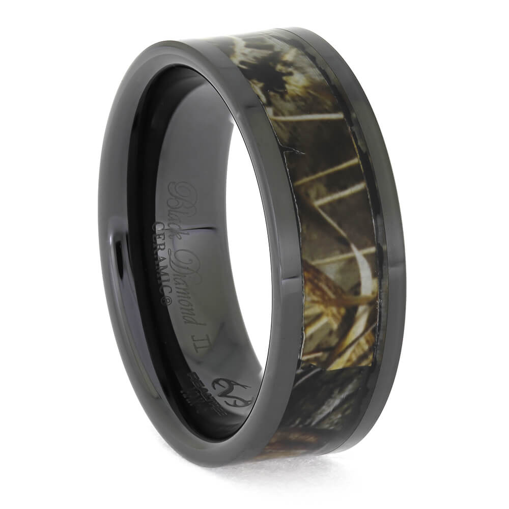 Realtree® Max5 Camouflage Wedding Band, Size 10.5-RS11345 - Jewelry by Johan