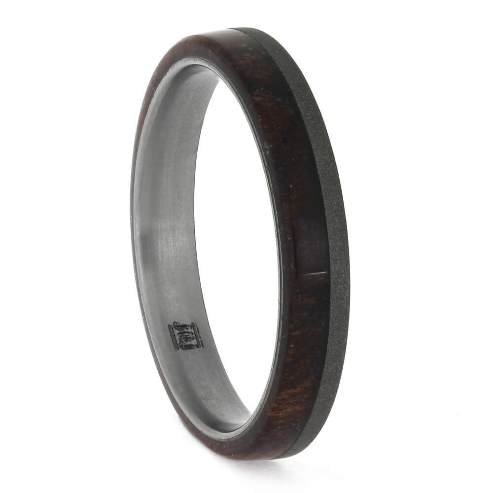 Women's Sequoia Redwood Wedding Band, Size 6.25-RS11347 - Jewelry by Johan
