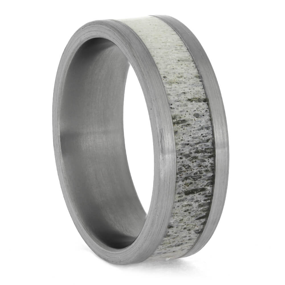 Deer Antler Wedding Ring