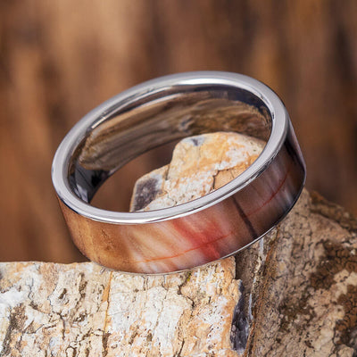 Petrified Wood Fossil Ring