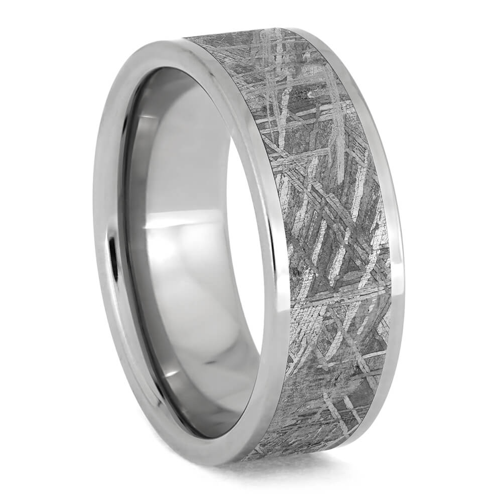 Men's Tungsten Meteorite Wedding Band-2179 - Jewelry by Johan