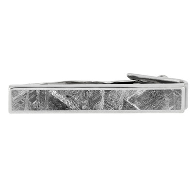 Authentic Meteorite Tie Clip, In Stock-SIG3054 - Jewelry by Johan