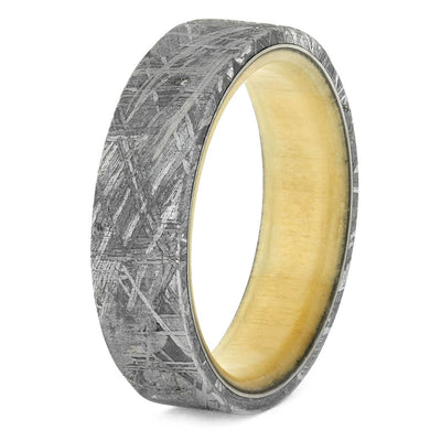 Meteorite Wedding Band for Men