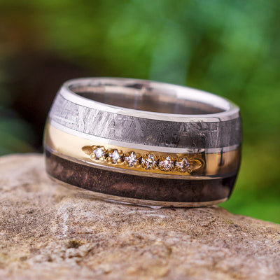 Platinum Wedding Band for Men