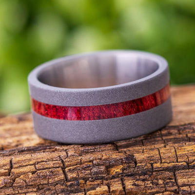 Bloodwood Wedding Band