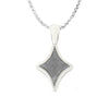 "18"" Meteorite Star Necklace, Sterling Silver Jewelry-3906 - Jewelry by Johan"