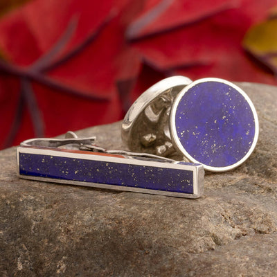 Blue Formal Wear Gift Set with Lapis Lazuli