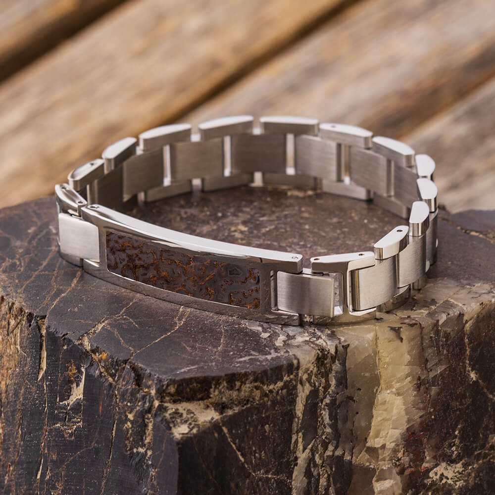Dinosaur Fossil Interchangeable Bracelet, In Stock-SIG3051 - Jewelry by Johan