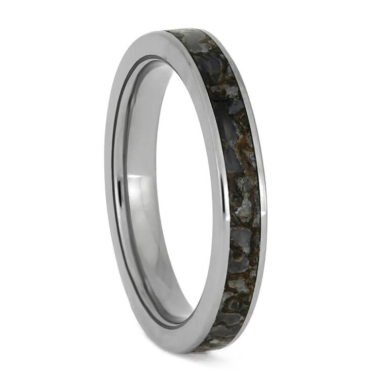 Narrow Fossil Ring