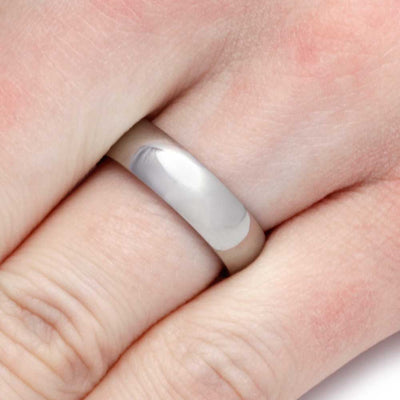 Ironwood Ring With Titanium Overlay-SIG3004 - Jewelry by Johan