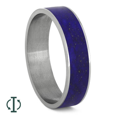 Lapis Lazuli Inlays For Interchangeable Rings, 5MM or 6MM-INTCOMP-LZ - Jewelry by Johan