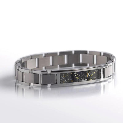 Interchangeable Yellow Gold Stardust™ in Stainless Steel Bracelet-RS10199 - Jewelry by Johan