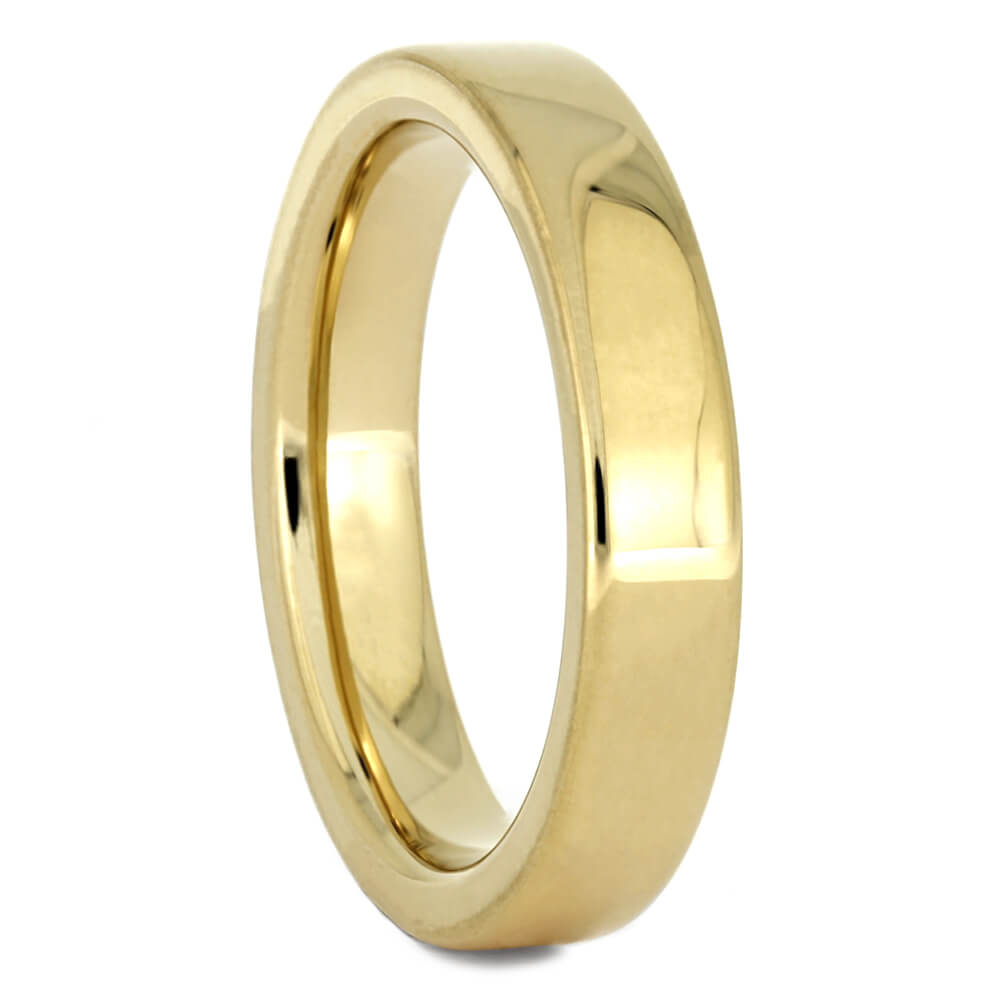 Yellow Gold Men's Wedding Band, Size 5-RS10990 - Jewelry by Johan