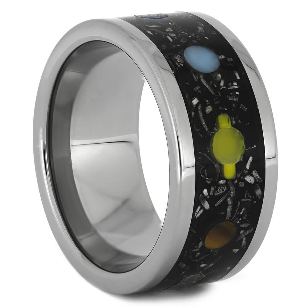 Planet Ring with Solar System Design, Size 8.25-RS11072 - Jewelry by Johan