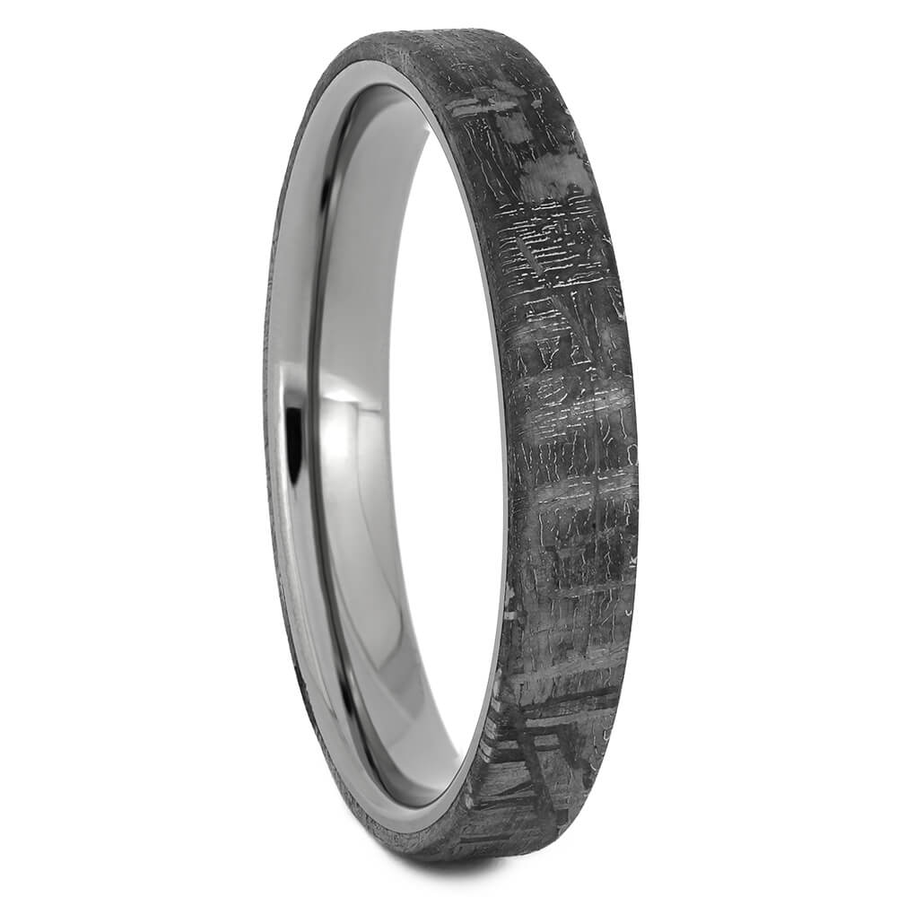 Narrow Titanium Ring for Men, Size 12.5-RS11169 - Jewelry by Johan
