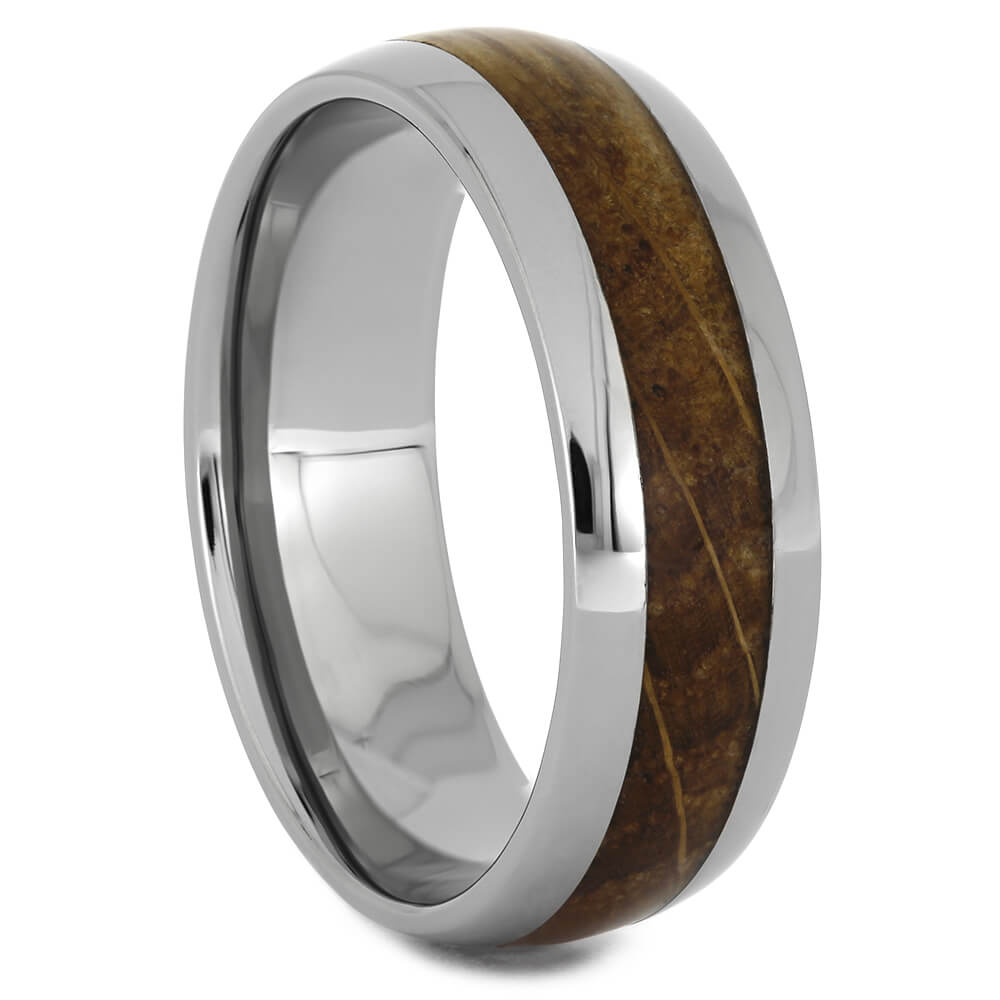 Whiskey Barrel Oak Wood Ring for Men, Size 12.5-RS11238 - Jewelry by Johan