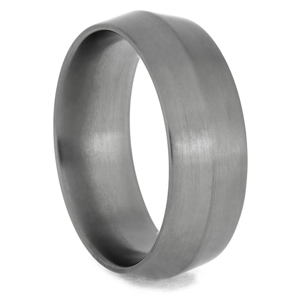 Titanium Knife Edge Wedding Band