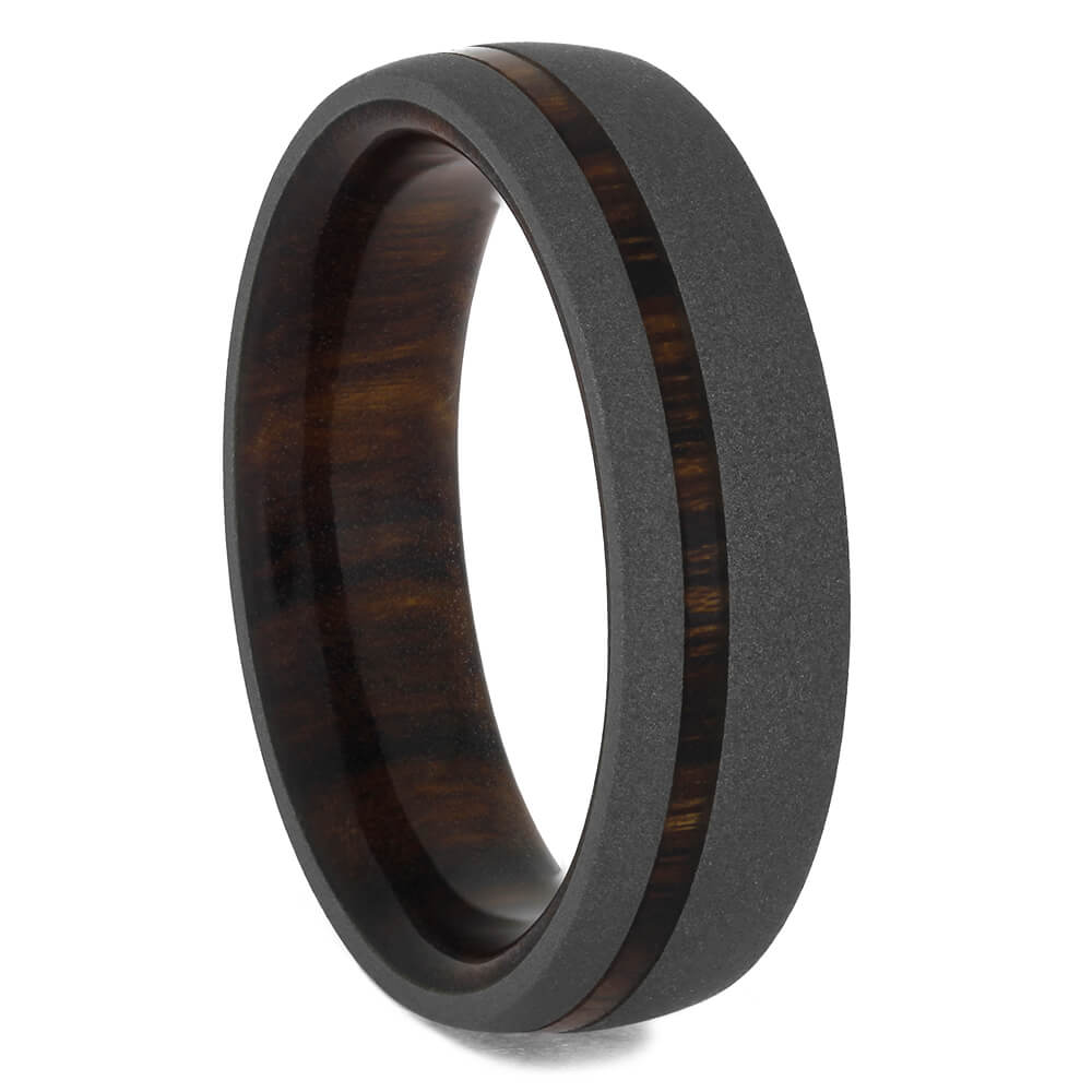 Ironwood Men's Wedding Band, Size 9-RS11423 - Jewelry by Johan