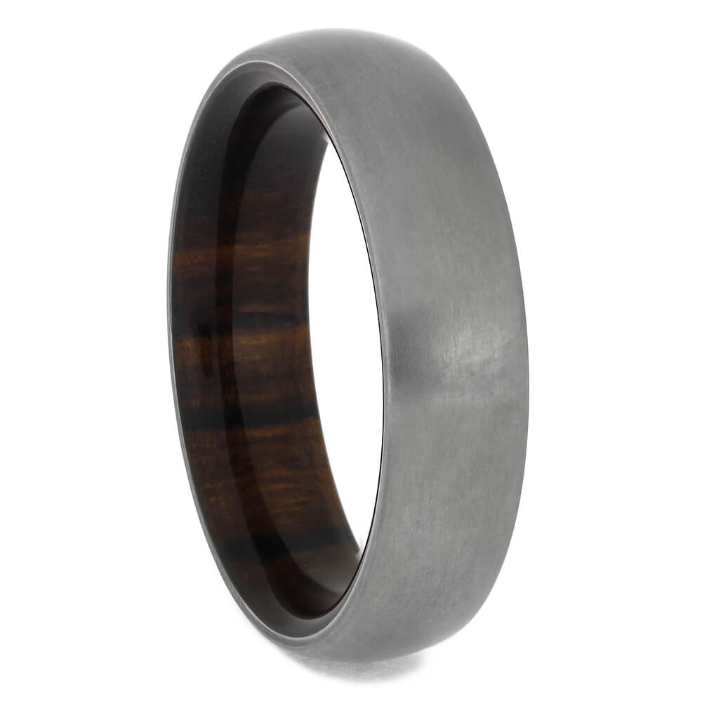 Ironwood Men's Wedding Band With Matte Finish, Size 10.5-RS11432 - Jewelry by Johan