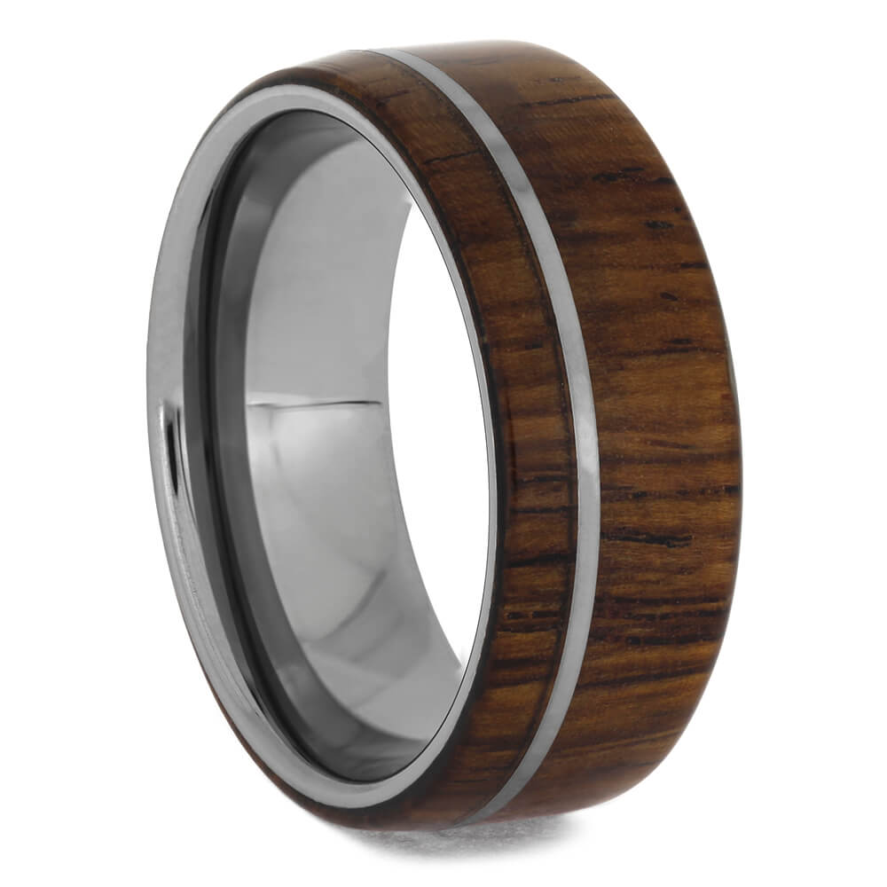 Tungsten Rosewood Men's Wedding Band, Size 9-RS11446 - Jewelry by Johan
