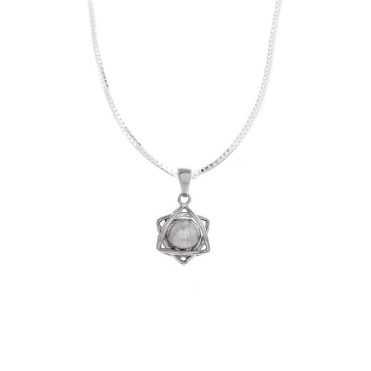 Meteorite Sphere Nucleus Necklace