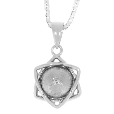 "18"" Meteorite Sphere Nucleus Necklace, In Stock-RSSB183 - Jewelry by Johan"