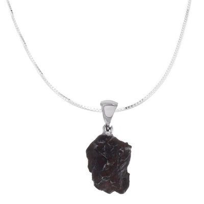 Meteorite pendant jewelry jewelry by johan sterling silver meteorite pendant necklace rssb691 aloadofball Image collections