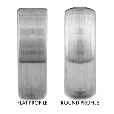 Round vs Flat Ring Profile