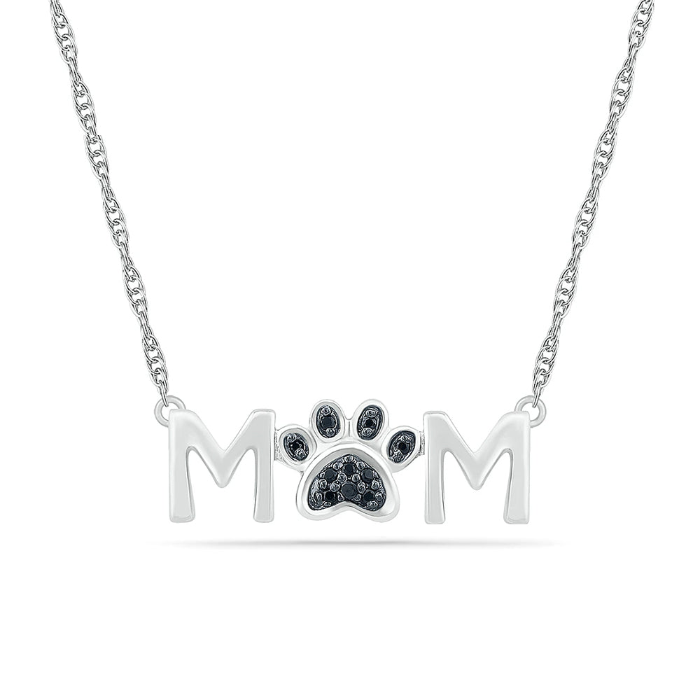 Mother's Day Necklace, Dog or Cat Mom, Silver or Gold-SHNV081547 - Jewelry by Johan