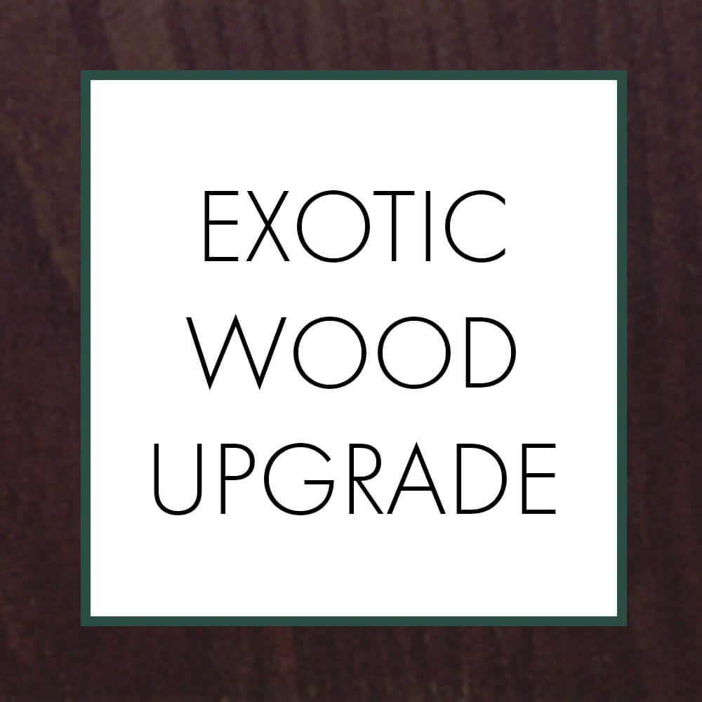 Exotic Wood Upgrade - Jewelry by Johan