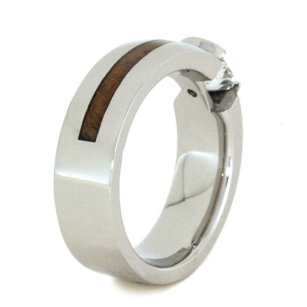 teak wooden index rings ring