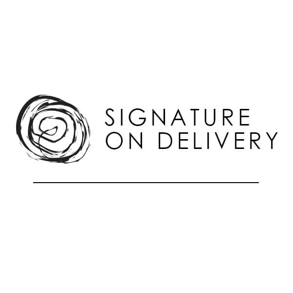 Signature on Delivery (Signature Proof of Delivery)-SRV09 - Jewelry by Johan