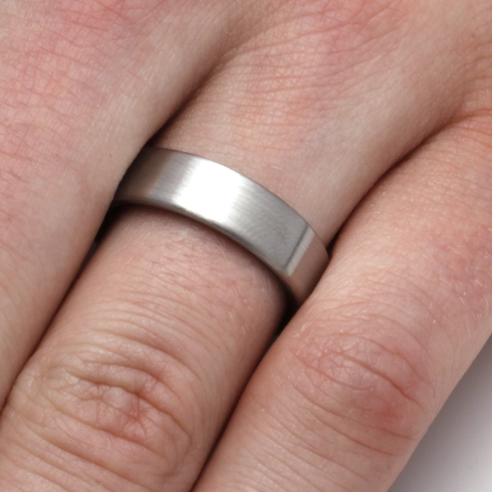 Whiskey Barrel Ring with Titanium Overlay - Jewelry by Johan