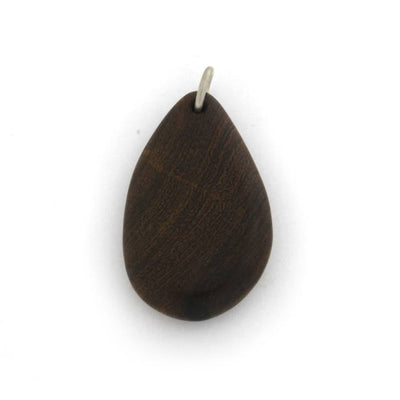 Ironwood Tear Drop Wood Pendant(1)