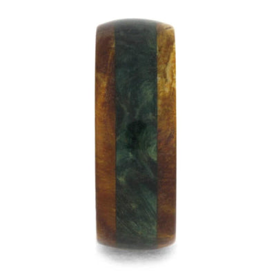 Green Gold Box Elder Burl Titanium_1033 (2)