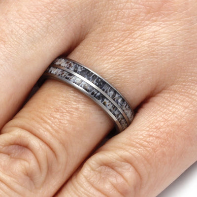 Matte Titanium Ring for Woman