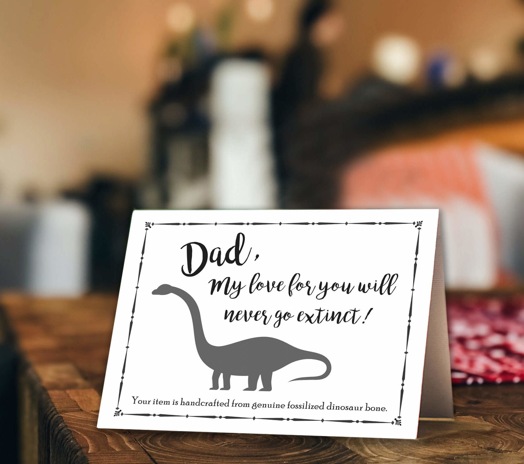 Mini Father's Day Card, Three Message Options-SRV15 - Jewelry by Johan