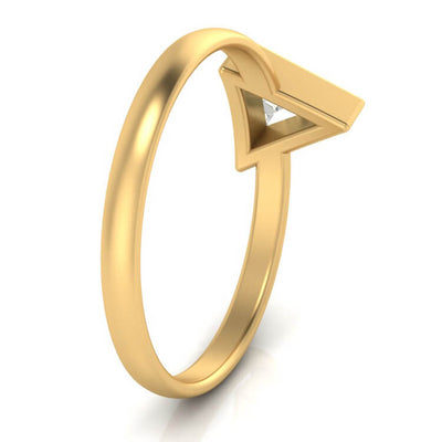 10k Yellow Gold Triangle Diamond_3510 (3)
