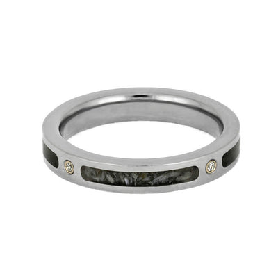 Unique Diamond Men's Wedding Band
