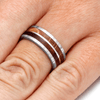 Damascus And Koa Wood Ring (5)