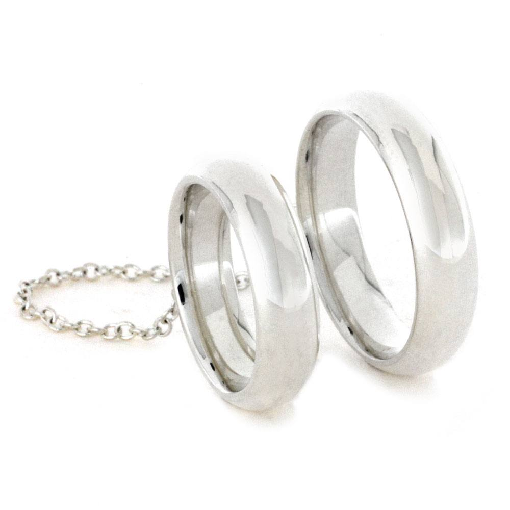 Sterling Silver Chain Rings Two Fashion Knuckle Rings2836