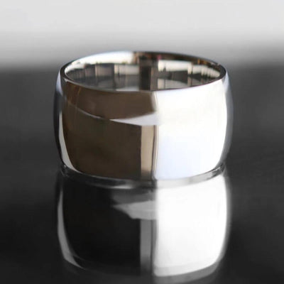 Titanium Wedding Band with Mirror Finish-1376 - Jewelry by Johan